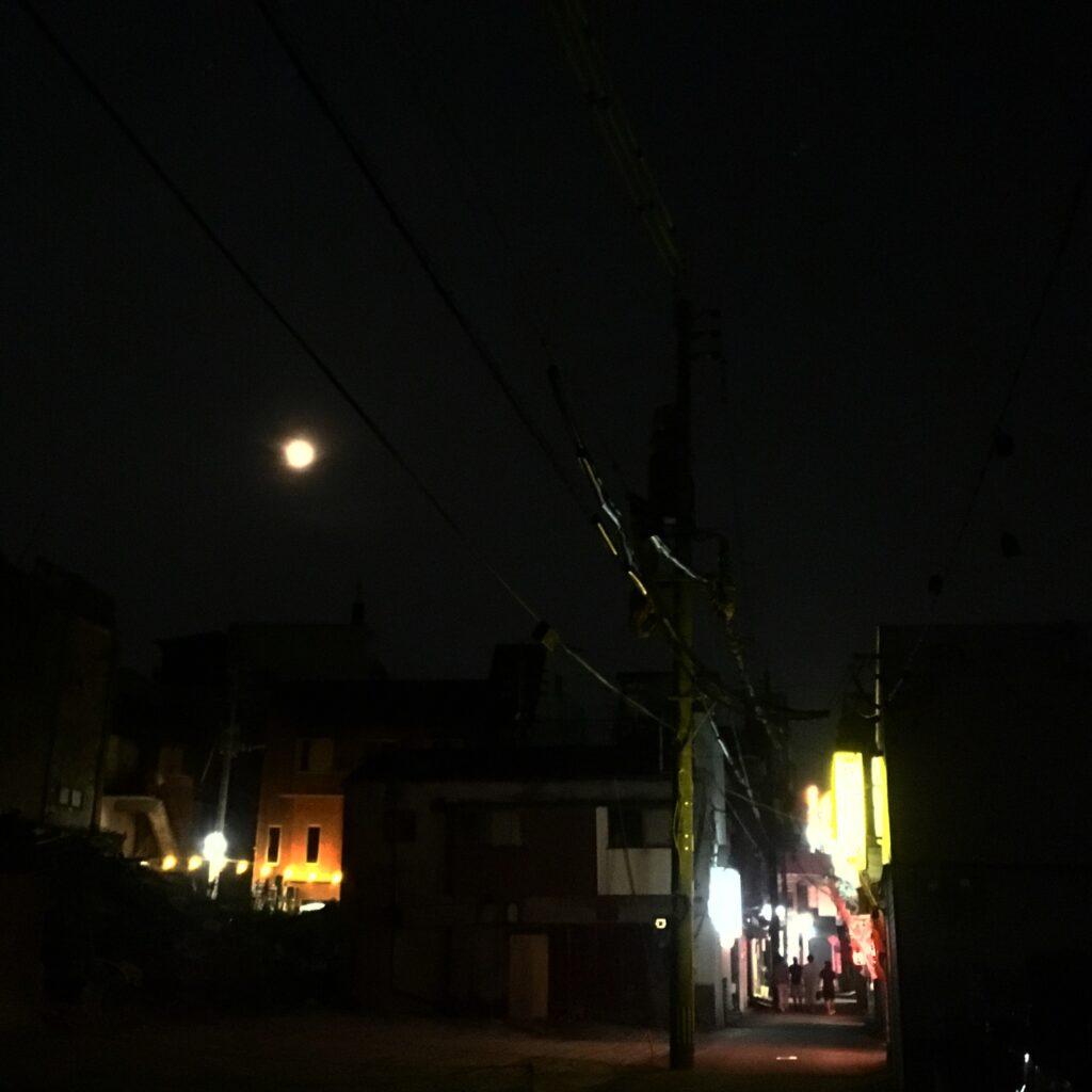 満月の夜に@京町食堂