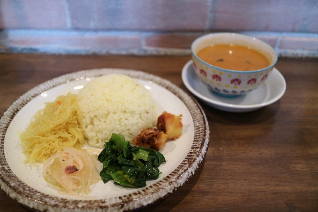 【すずの京町食堂日記】毎月一回!カレーランチ