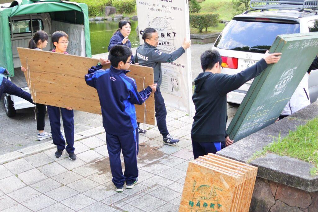 4/28開催☆マルクトレポート(学生ボランティアのご紹介)